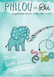 Philou fischt frische Zungenbrecher