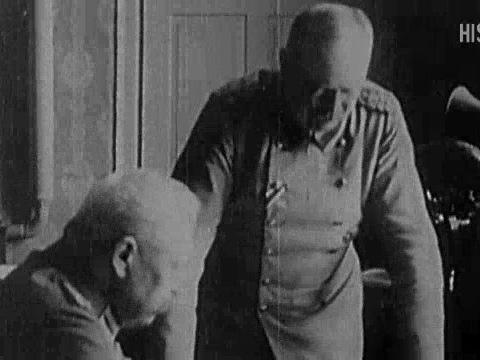 Die deutsche Kapitulation im Ersten Weltkrieg