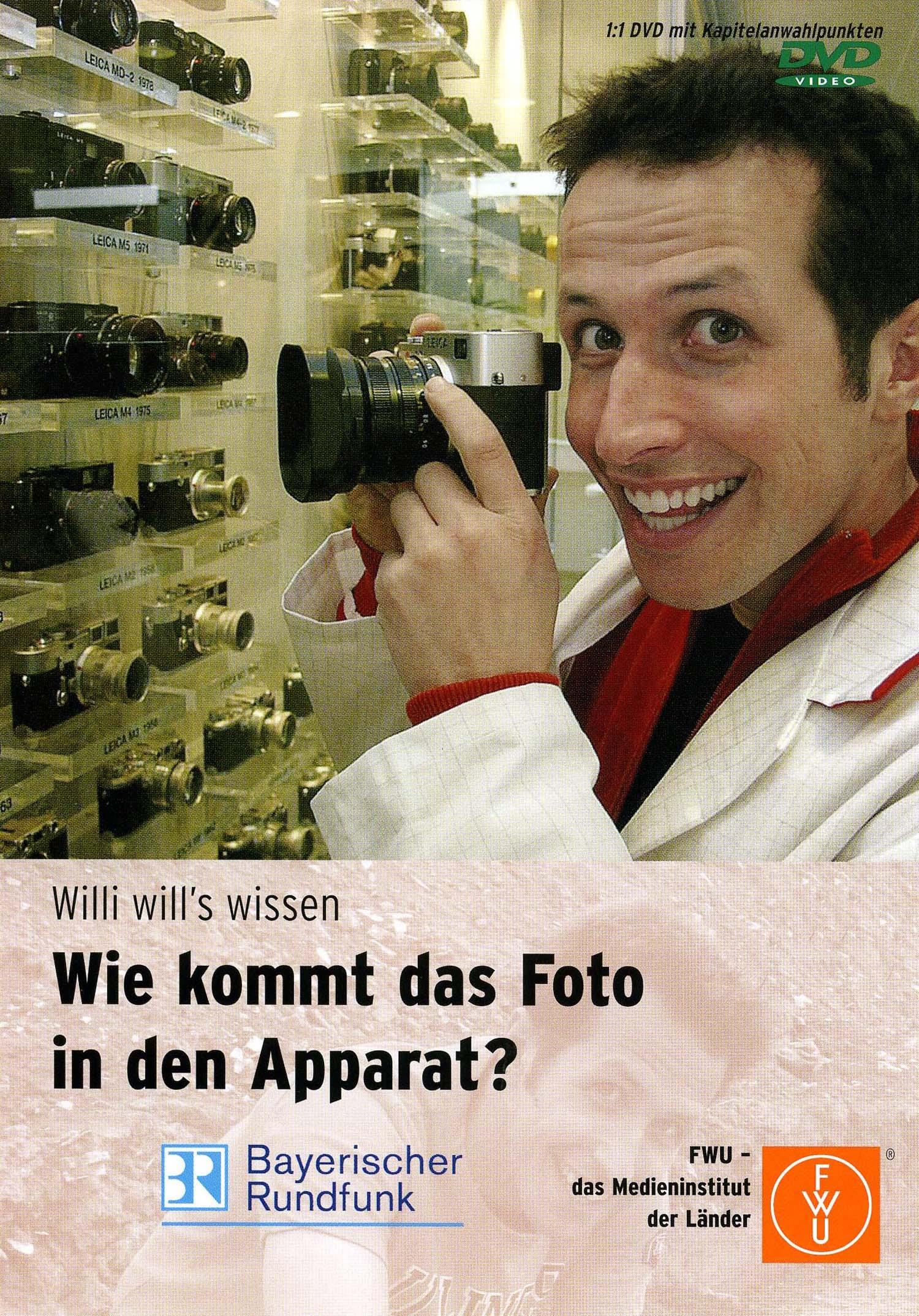 Willi will´s wissen: Wie kommt das Foto in den Apparat?