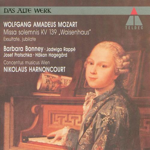 MOZART, W.A.: Exsultate jubilate / Missa solemnis in C minor (Bonney, Harnoncourt)
