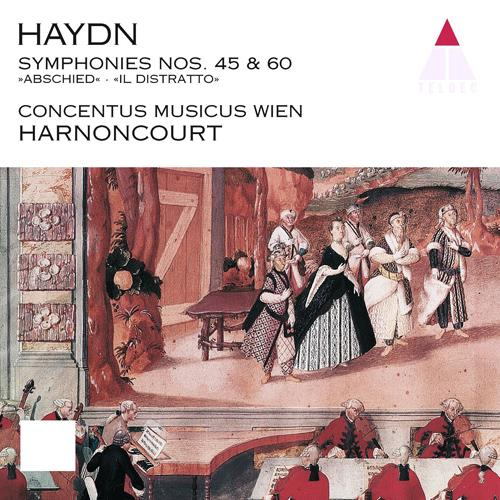 "HAYDN, J.: Symphonies Nos. 45, ""Farewell"" and 60, ""Il distratto"", ""Der Zerstreute"" (Concentus Musicus Wien, Harnoncourt)"