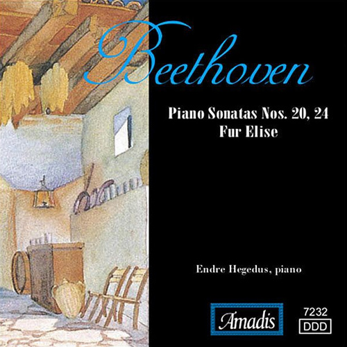 BEETHOVEN: Piano Sonatas Nos. 20, 24 / Fur Elise / Septet in E flat major