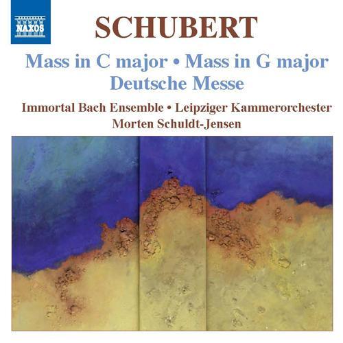 SCHUBERT, F.: Masses Nos. 2 and 4 / Deutsche Messe (Immortal Bach Ensemble, Schuldt-Jensen)