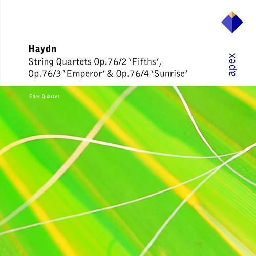 """HAYDN, J.: String Quartets Nos. 61, """"Fifths"""", 62, """"Emperor"""", and 63, """"Sunrise"""" (Eder Quartet)"""