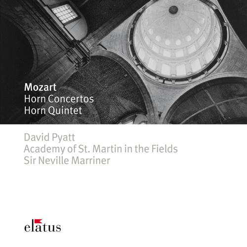 MOZART, W.A.: Horn Concertos Nos. 1-4 / Horn Quintet in E flat major (Pyatt, Academy of St. Martin in the Fields Orchestra, Marriner)