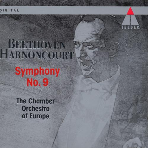 "BEETHOVEN, L. van: Symphony No. 9, ""Choral"" (Arnold Schoenberg Choir, Chamber Orchestra of Europe, Harnoncourt)"