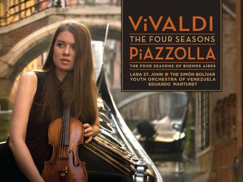 VIVALDI, A.: 4 Seasons (The) / PIAZZOLLA, A.: Las 4 Estaciones Portenas (St. John, Simon Bolivar Youth Orchestra, Marturet)