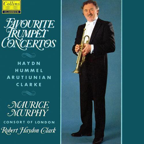 HAYDN, J. / HUMMEL, J.N. / ARUTIUNIAN, A.: Trumpet Concertos (Murphy, Consort of London, R. Clark)