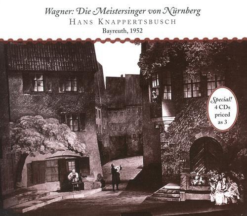 WAGNER, R.: Meistersinger von Nurnberg (Die) (Knappertsbusch) (1952-1953)