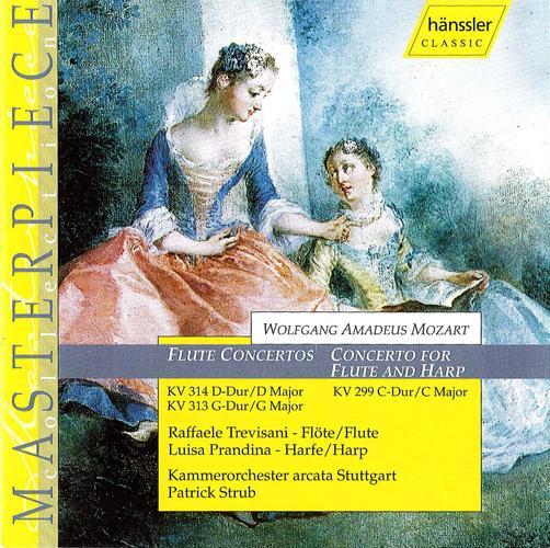 MOZART: Flute Concertos Nos. 1 and 2 / Concerto for Flute and Harp