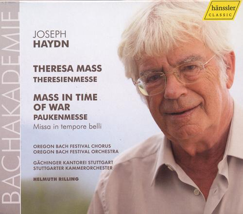 "HAYDN, J.: Mass in B flat major, ""Theresienmesse"" / Mass in C major, ""Paukenmesse"""