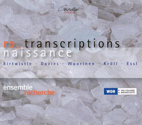 Chamber Music (Renaissance) - OCKEGHEM, J. / DAVIES, P.M. / TALLIS, T. / WUORINEN, C. / ESSL, K. (Renaissance Transcriptions) (Ensemble Recherche)