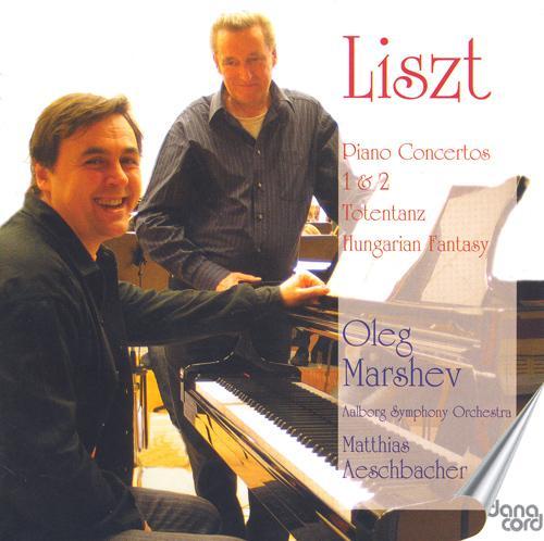 LISZT, F.: Piano Concertos Nos. 1 and 2 / Totentanz / Fantasie uber ungarische Volksmelodien (Marshev, Aalborg Symphony, Aeschbacher)