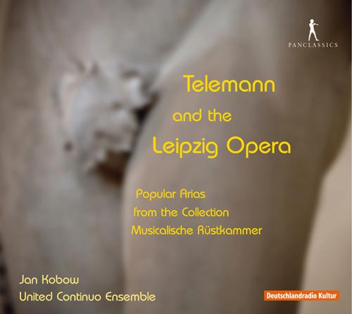 Opera Arias (Tenor): Kobow, Jan - TELEMANN, G.P. / HOFFMANN, M. / KEISER, R. / HEINICHEN, J.D. (Telemann and the Leipzig Opera)