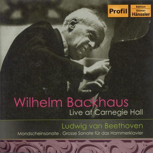 "BEETHOVEN: Piano Sonatas Nos. 14, ""Moonlight"", and 29, ""Hammerklavier"" (Backhaus) (1956)"