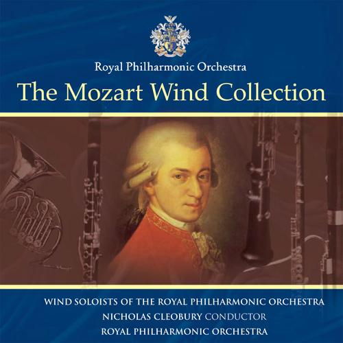 MOZART, W.A.: Clarinet Concerto, K. 622 / Horn Concerto No. 4 / Divertimento, K. 136 (The Mozart Wind Collection) (Royal Philharmonic, Cleobury)
