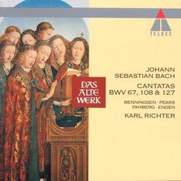 BACH, J.S.: Sacred Cantatas - BWV 67, 108, 127 (Richter)