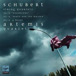 "SCHUBERT, F.: String Quartets Nos. 13, 14, ""Death and the Maiden"", and 15 (Artemis Quartet)"