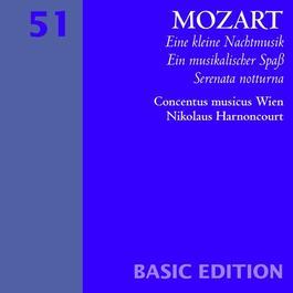 """MOZART, W.A.: Serenade Nos. 6, """"Serenata Notturna"""" and 13, """"Eine kleine Nachtmusik"""" / Ein musikalischer Spass (Concentus Musicus Wien, Harnoncourt)"""