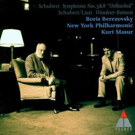 "SCHUBERT: Symphonies Nos. 3 and 8, ""Unfinished"" / Fantasy, ""Wandererfantasie"" (New York Philharmonic, Masur)"