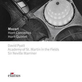 MOZART, W.A.: Horn Concertos Nos. 1-4 / Horn Quintet in E flat major (Pyatt, Academy of St. Martin in the Fields Orchestra, Marriner)