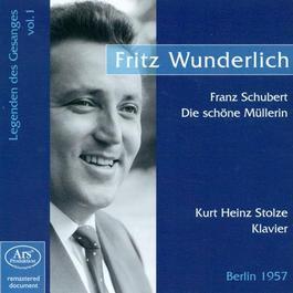 SCHUBERT, F.: Schone Mullerin (Die) (Wunderlich, Stolze) (1957)
