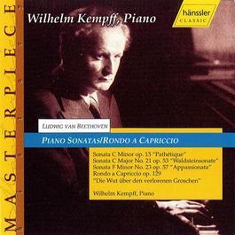 BEETHOVEN: Piano Sonatas Nos. 8, 21 and 23 / Rondo a Capriccio
