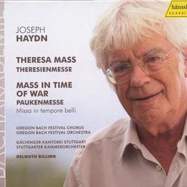"HAYDN, J.: Mass in B flat major, ""Theresienmesse"" / Mass in C major, ""Paukenmesse"""