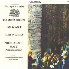 """MOZART, W.A.: Missa solemnis in C minor, K. 139, """"Waisenhausmesse"""" (Dresden Cathedral Soloists, Choir and Orchestra, Bauer)"""