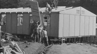 Errichtung des Konzentrationslagers Buchenwald