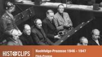 Nürnberger Nachfolgeprozesse: Angeklagte im Flick-Prozess