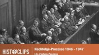 Nürnberger Nachfolgeprozesse: Angeklagte der IG-Farben